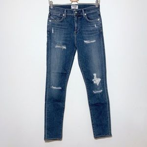 Agolde Jeans - AGOLDE High Rise Skinny Sophie in Cannes